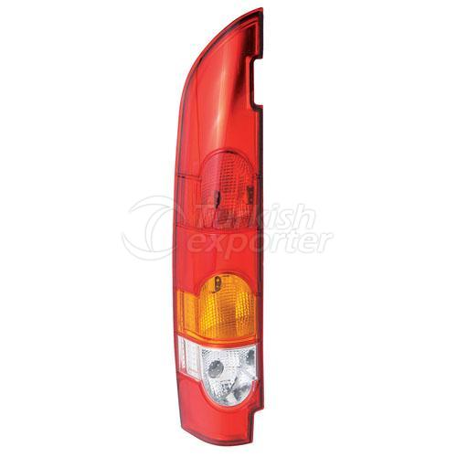 Tail Lamp Double Gate (Horizontal) Without Bulb Holder Right - Renault / Kangoo