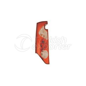 Tail Lamp Double Gate (Horizontal) Without Bulb Holder Left - Renault / Kangoo