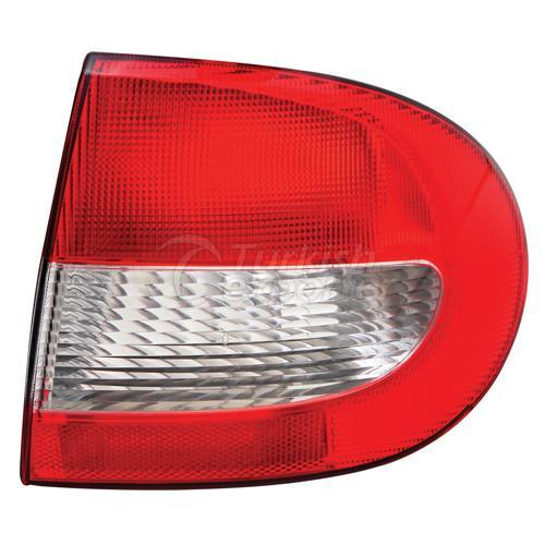 Tail Lamp Exterior Without Bulb Holder Right - Renault / Megane 1