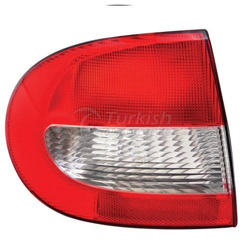 Tail Lamp Exterior Without Bulb Holder Left - Renault / Megane 1