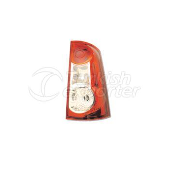 Tail Lamp Single Gate (Horizontal) Without Bulb Holder Right - Dacia / Logan MCV