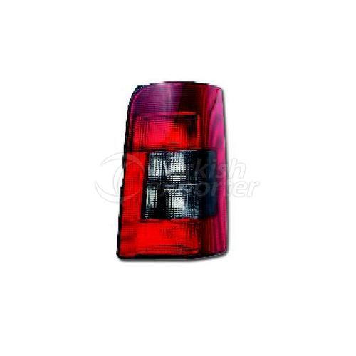 Tail Lamp Double Gate (Horizontal) Without Bulb Holder Right - Peugeot / Partner