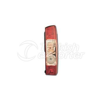 Tail Lamp Without Bulb Holder Right - Peugeot / Boxer