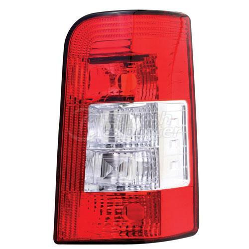 Tail Lamp Single Gate (Vertical) Without Bulb Holder Right - Peugeot / Partner