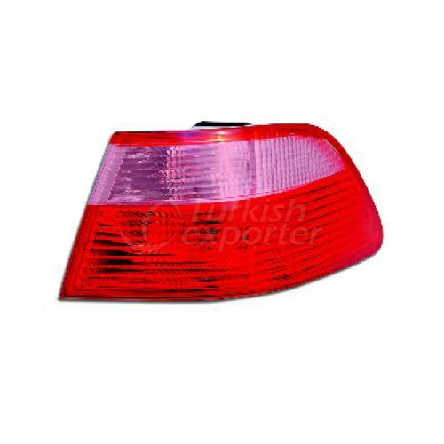 Tail Lamp Exterior  Without Bulb Holder Right - Fiat / Palio- Albea