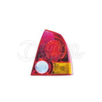 Tail Lamp Without Bulb Holder Right - Hyundai / Accent