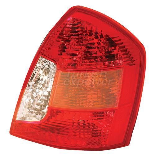 Tail Lamp Without Bulb Holder Left - Hyundai / Accent Era