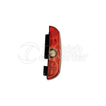 Tail Lamp Single Gate Without Bulb Holder Right - Fiat / Doblo