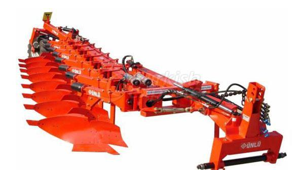 Semi Mounted Full Automatic Profile Plough