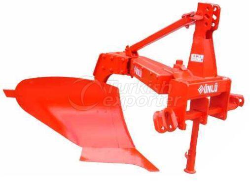 One Furrow Eccentric Plough