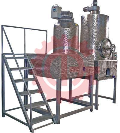 Halva Cyrup and Sugar Boiling Machine