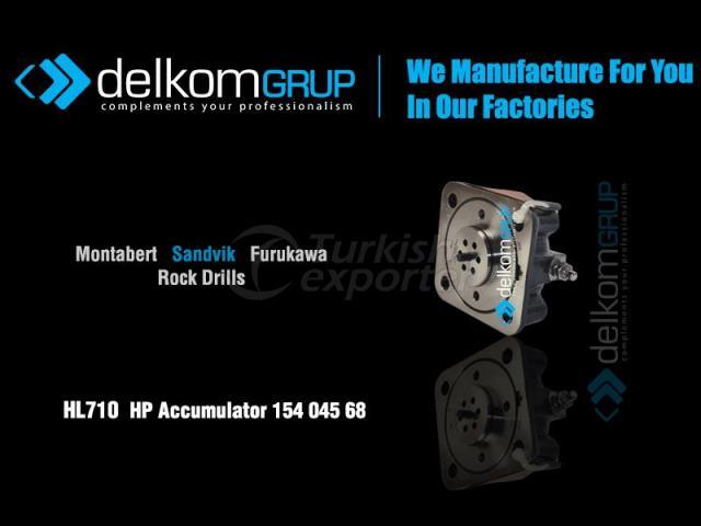 HL710  HP Accumulator 154 045 68