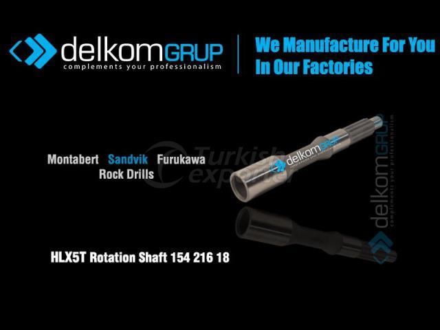 HLX5T Rotation Shaft 154 216 18