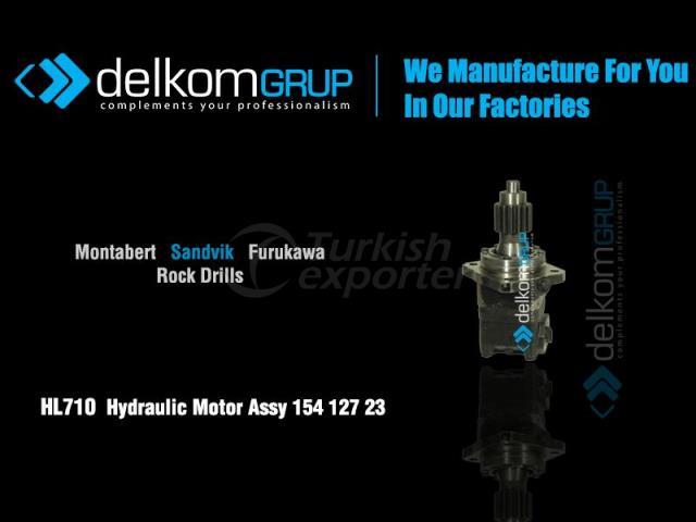 HL710  Hydraulic Motor Assy 154 127 23
