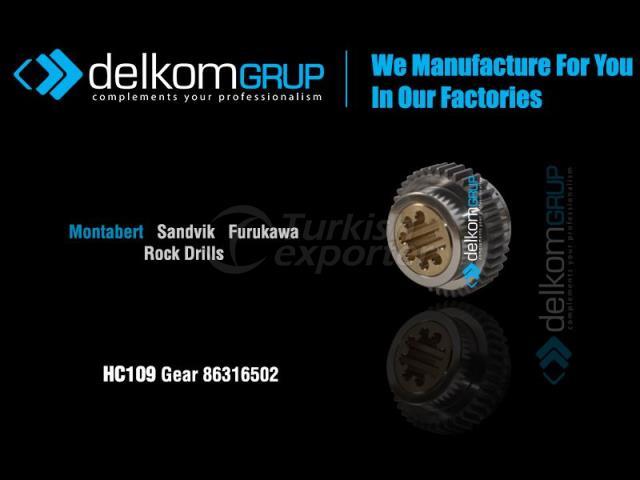 HC109 Gear 86316502