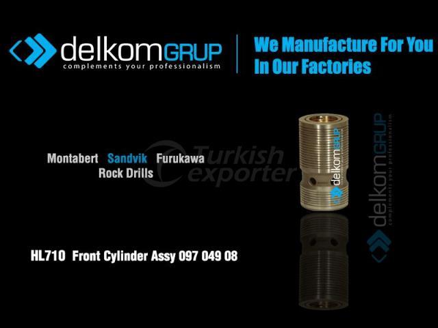 HL710  Front Cylinder Assy 097 049 08