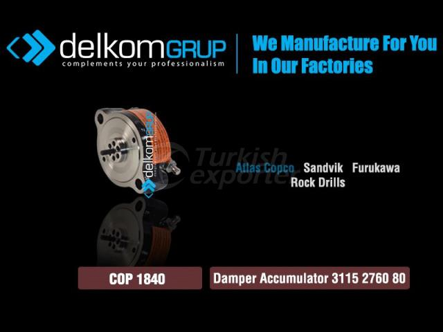 Damper Accumulator 3115 2760 80