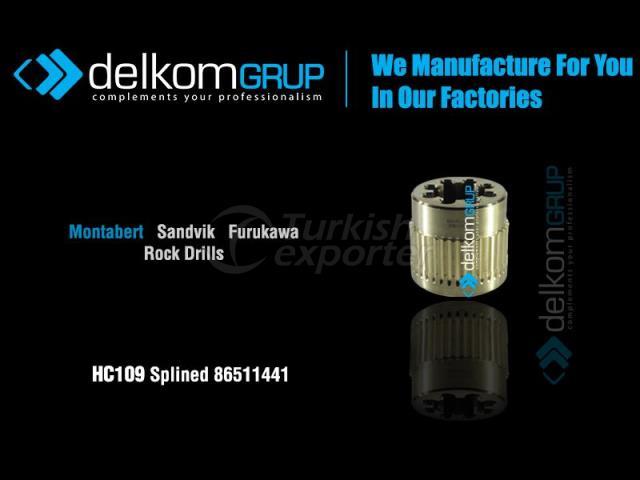 HC109 Splined 86511441