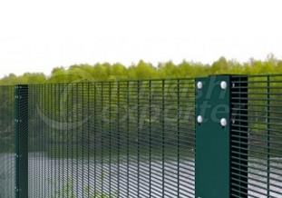 High Security Panel Fence