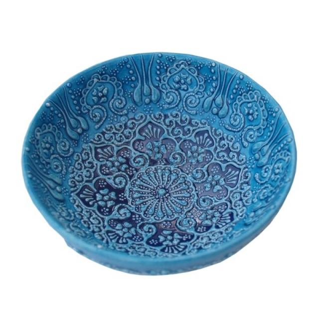 Ceramic Bowl Turkuaz