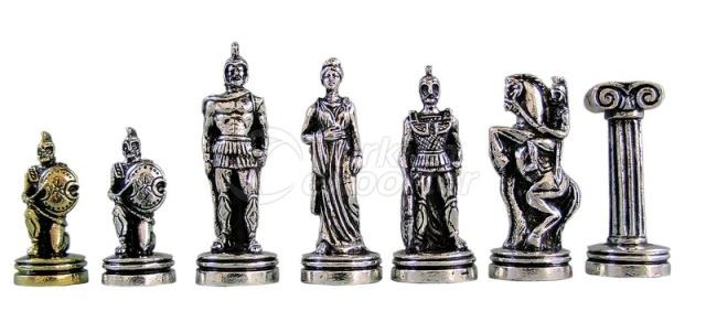 Chess Figures Cast ST00406
