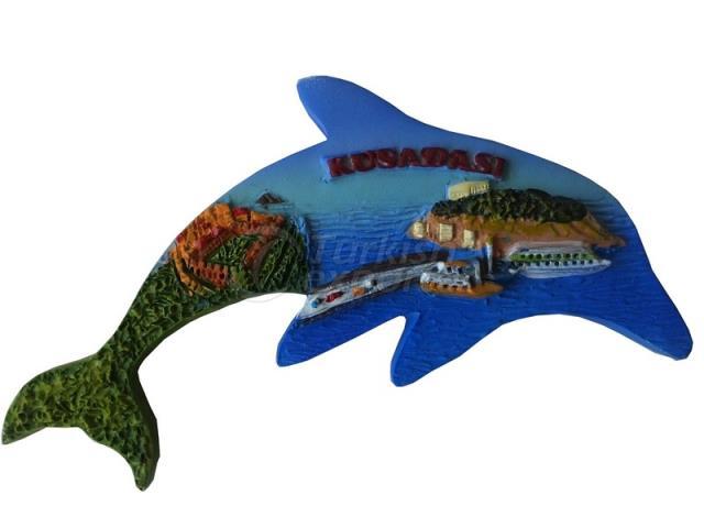 Magnet Kusadasi Dolphin ST05207