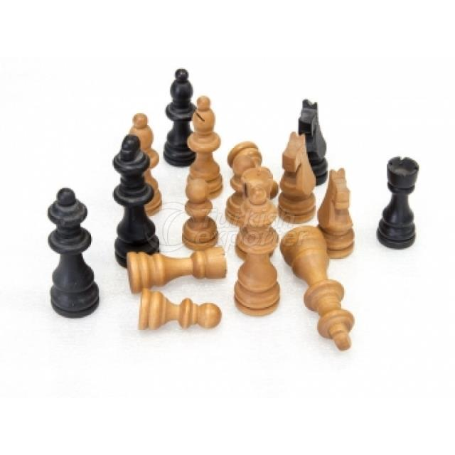 Chess Figures Wooden ST00436,