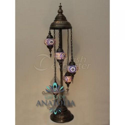 Standing Mosaic Lantern