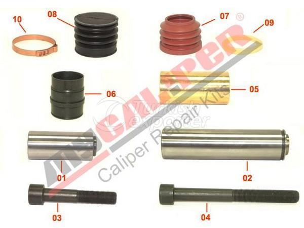 Caliper Guides & Seals Repair Kit Knorr