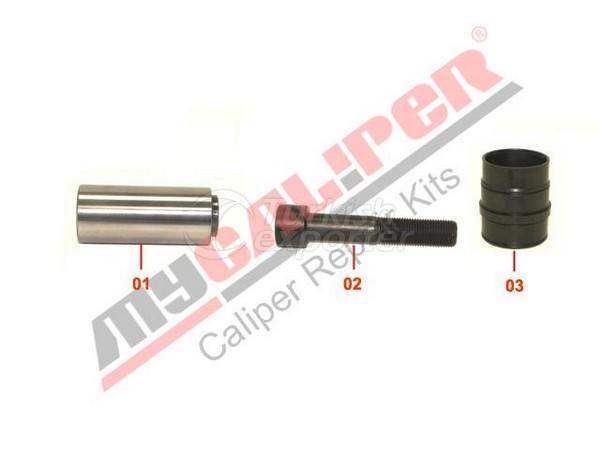 Caliper Rubber Bush & Guide Repair Kit