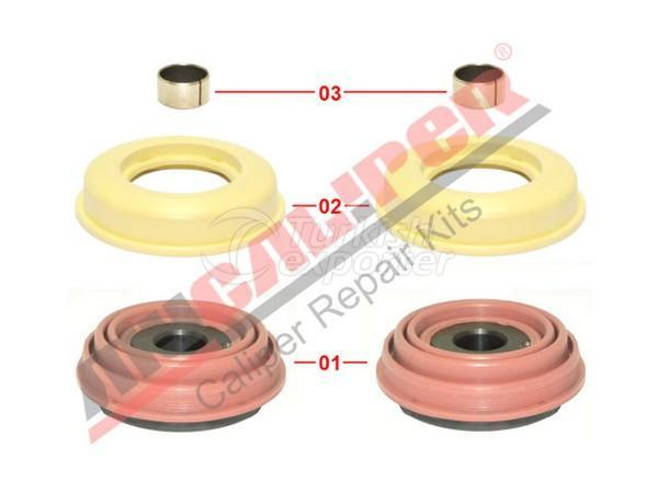 Caliper Piston & Seals Repair Kit Knorr