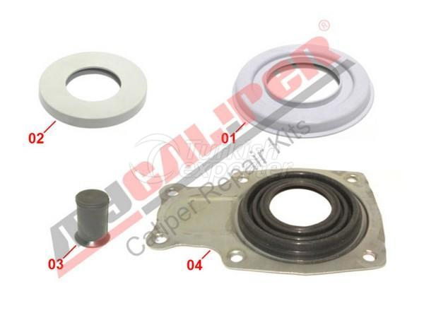 Caliper Dust Cover & Seals Repair Kit Meritor