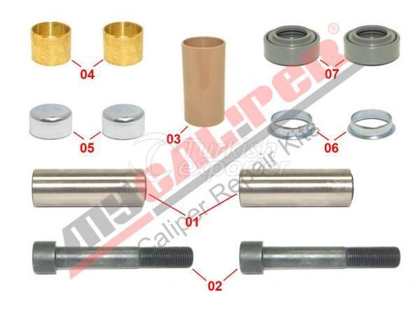 Caliper Guides & Seals Repair Kit Meritor