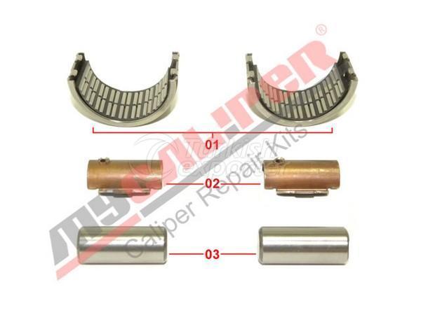 Caliper Half Bearing Repair Kit Meritor