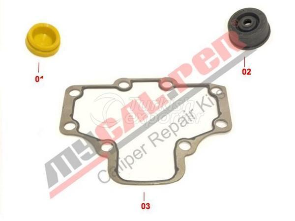 Caliper Gasket & Seals Repair Kit Wabco