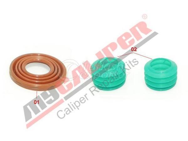 Caliper Seals & Boots Repair Kit Wabco