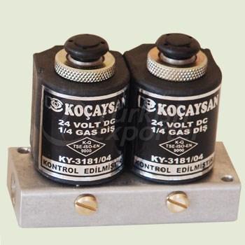 Electric 2 Part (12 V) Plenty Axle Set (1/8) / Manual Switch On-Off  - 01 212 2