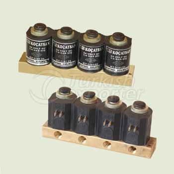Electric 4 Part (12 V) SET Manual Switch On-Off - 01 412 0