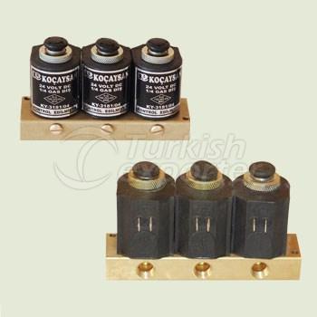 Electric 3 Part (12 V) SET SABKO / Manual Switch On-Off  - 01 312 1