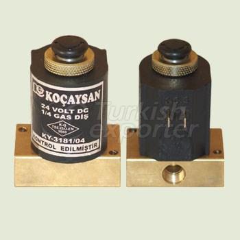 Electric 1 Part (24 V) SET SABKO / Manual Switch On-Off - 01 124 1