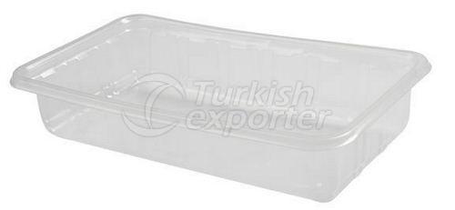 Plastic Deli Container P-0003