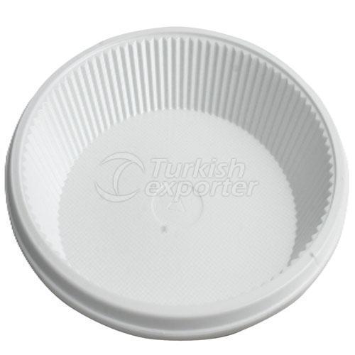 Plastic Plates 10 Ous