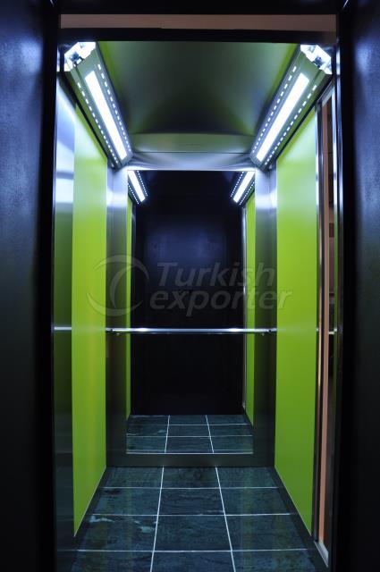 Yukselis Elevator Cabin - Ocean