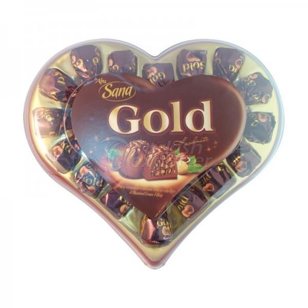Sana Gold Big Heart 200gr
