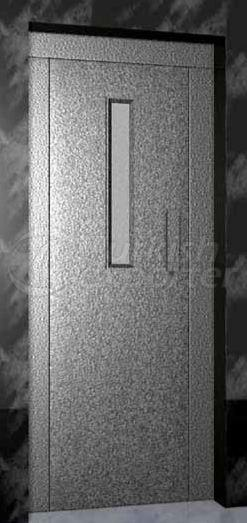 Semi Automatic Elevator Door