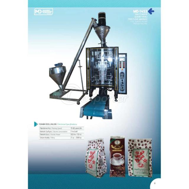 MD-1453 FULL QUADRO AUGER PACKING MACHINE