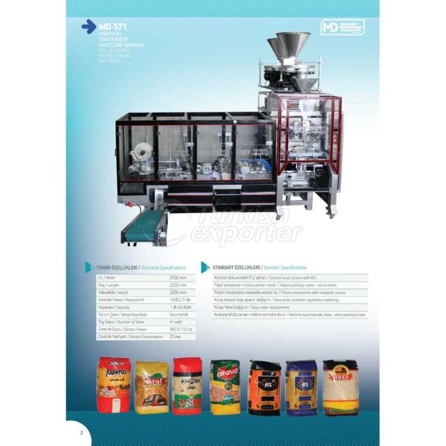 MD-571 FULL AUTOMATIC PACKING MACHINE