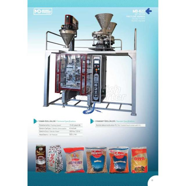 MD-622 DOUBLE SYSTEM PACKING MACHINE