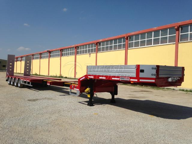 4 AXLES LOWBED SEMI-TRAILER