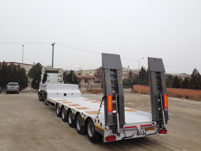 5 AXLES LOWBED SEMI-TRAILER